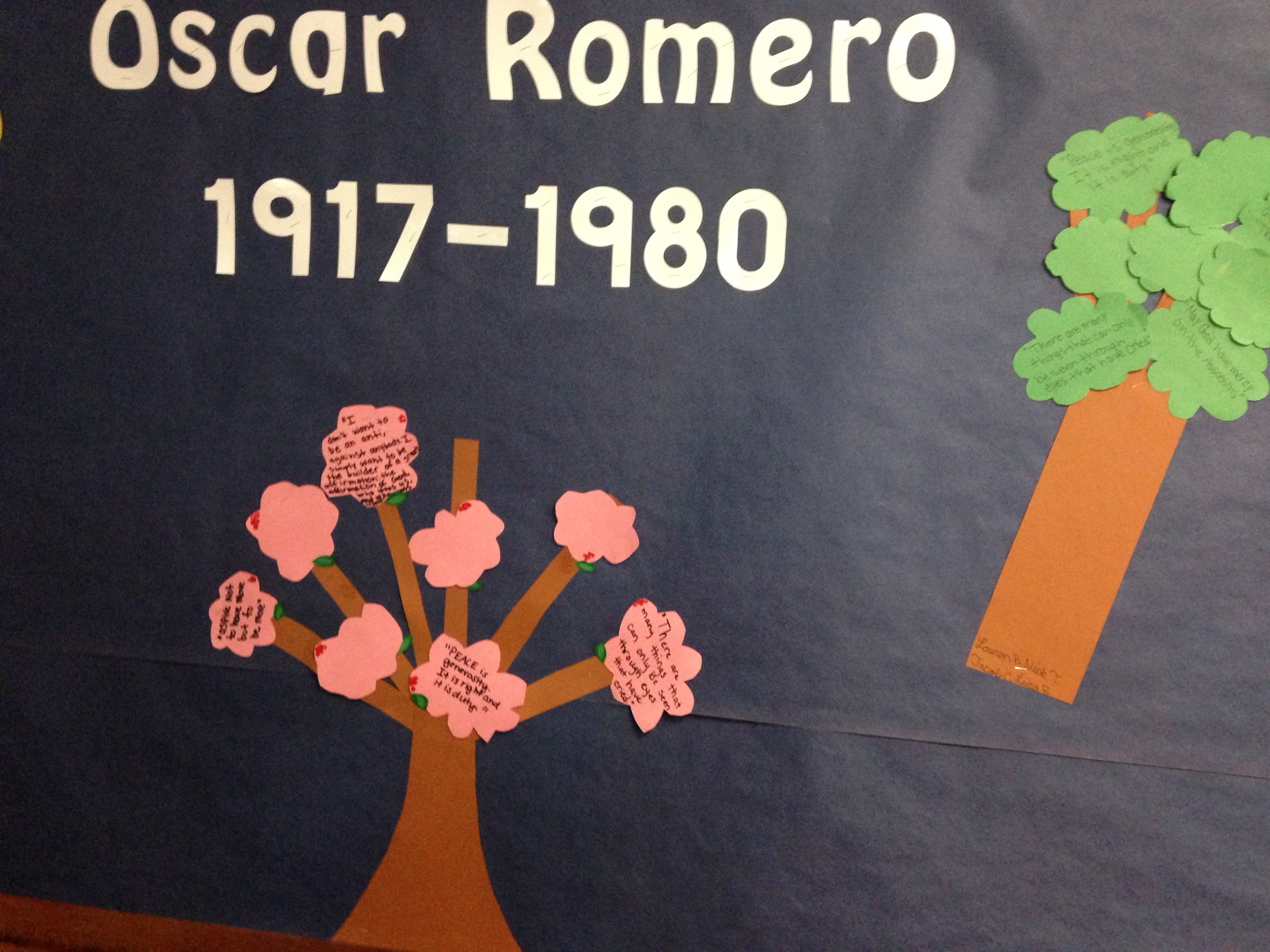 essay on oscar romero Free oscar romero papers, essays, and research papers.